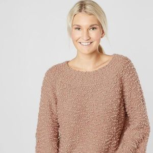 SO Cozy! Rose colored Billabong sweater